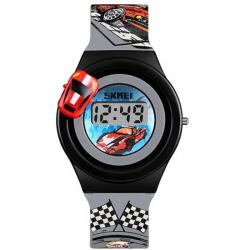 SKMEI 1376 GRAY Vaikiškas laikrodis