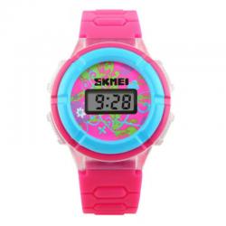 SKMEI 1097 ROSE RED Vaikiškas laikrodis