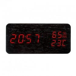 Elektrinis LED laikrodis XONIX GHY-016WL/BK/RED
