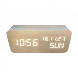 Electric LED Alarm Clock XONIX GHY-018WL/WH/WH