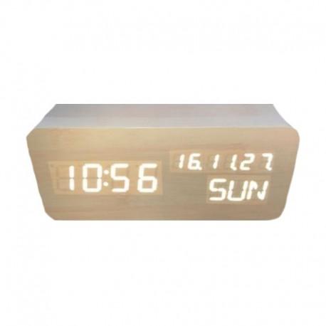 Elektrinis LED laikrodis XONIX GHY-018WL/WH/WH