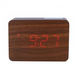 Electric LED Alarm Clock XONIX GHY-012/BR/RED