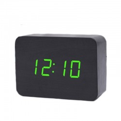 Электронные LED часы - будильник GHY-012/BK/GR