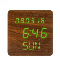 Elektrinis LED laikrodis XONIX GHY-1310/BR/GR