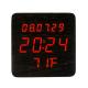 Elektrinis LED laikrodis XONIX GHY-1310/BK/RED