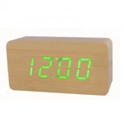 Электронные LED часы - будильник GHY-015YK/BR/GR