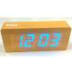 Electric LED Alarm Clock XONIX GHY-006YK/BR/BL