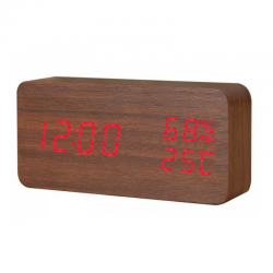 Electric LED Alarm Clock XONIX GHY-016WL/BR/RED