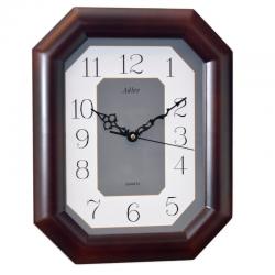 ADLER  RIEŠUTAS. 21046W Sieninis kvarcinis laikrodis