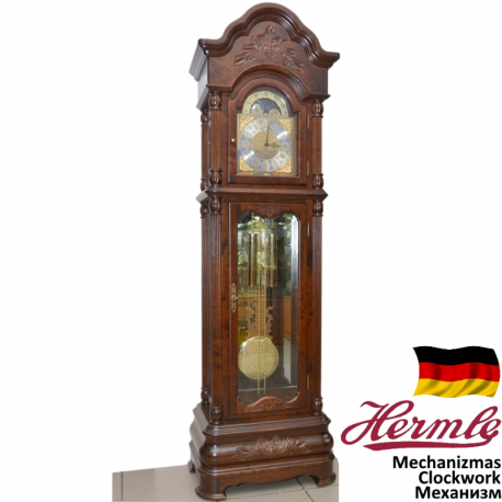 ADLER 10029W WALNUT. Grandfather Clock Mechanical