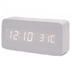 Электронные LED часы - будильник GHY-010/WH/WH