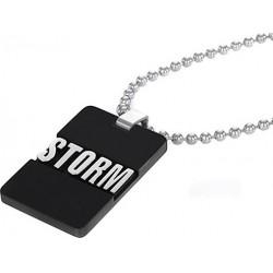 Vėrinys Storm 3D Tag Necklace (Slate)