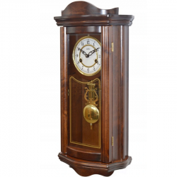 ADLER 11017W WALNUT. Wall Clock