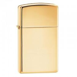 Lighter ZIPPO 1654B High Polish Brass Slim Size