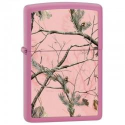 Lighter ZIPPO 28078 Matte Pink RealTree APG Camo Pattern Lighter