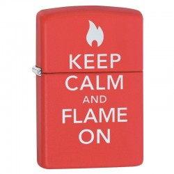 Lighter ZIPPO 28671 Keep Calm and Flame On Lighter