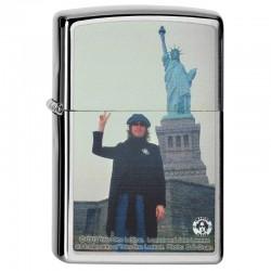 Lighter ZIPPO 28730 Classic  Chrome John Lennon  Pocket Lighter
