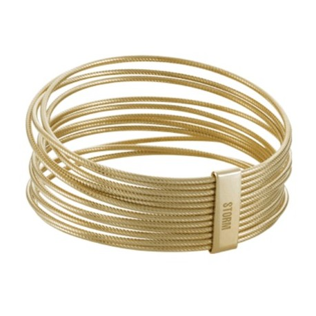 Apyrankė Storm Cartel Twist Bangle Gold