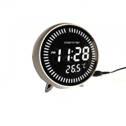Electric Alarm Clock  1010/WHITE