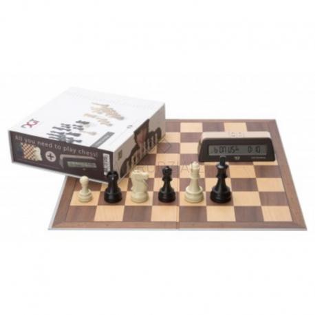 DGT Chess Starter Brown