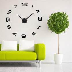 3D Wall Clock SL 3D-002 sieninis laikrodis